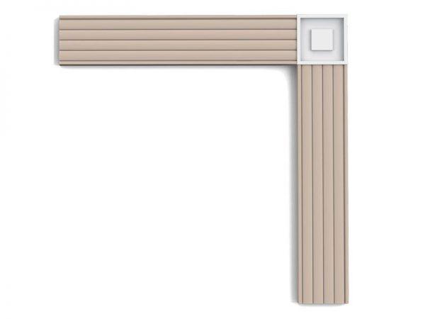 Detail P5020B Orac Decor 1.3 x 9 cm