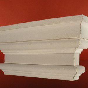 Kapitell des Pilasters Stuck GP-1/400