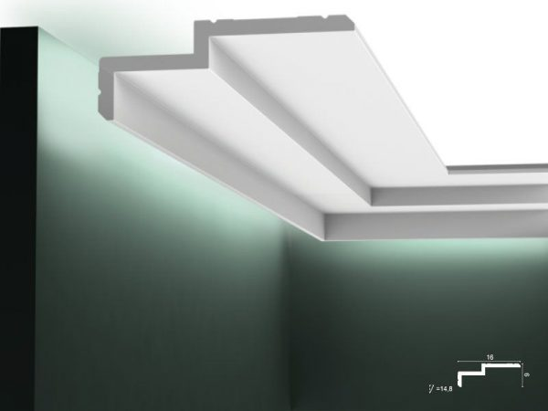 LED Deckenleiste C391 Orac Decor