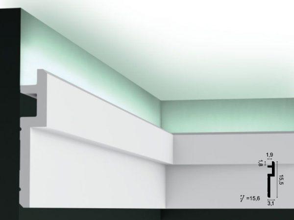 LED Deckenleiste C395 Orac Decor